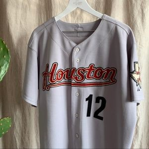 Houston Astros Harry Spilman Authentic Gray Jersey